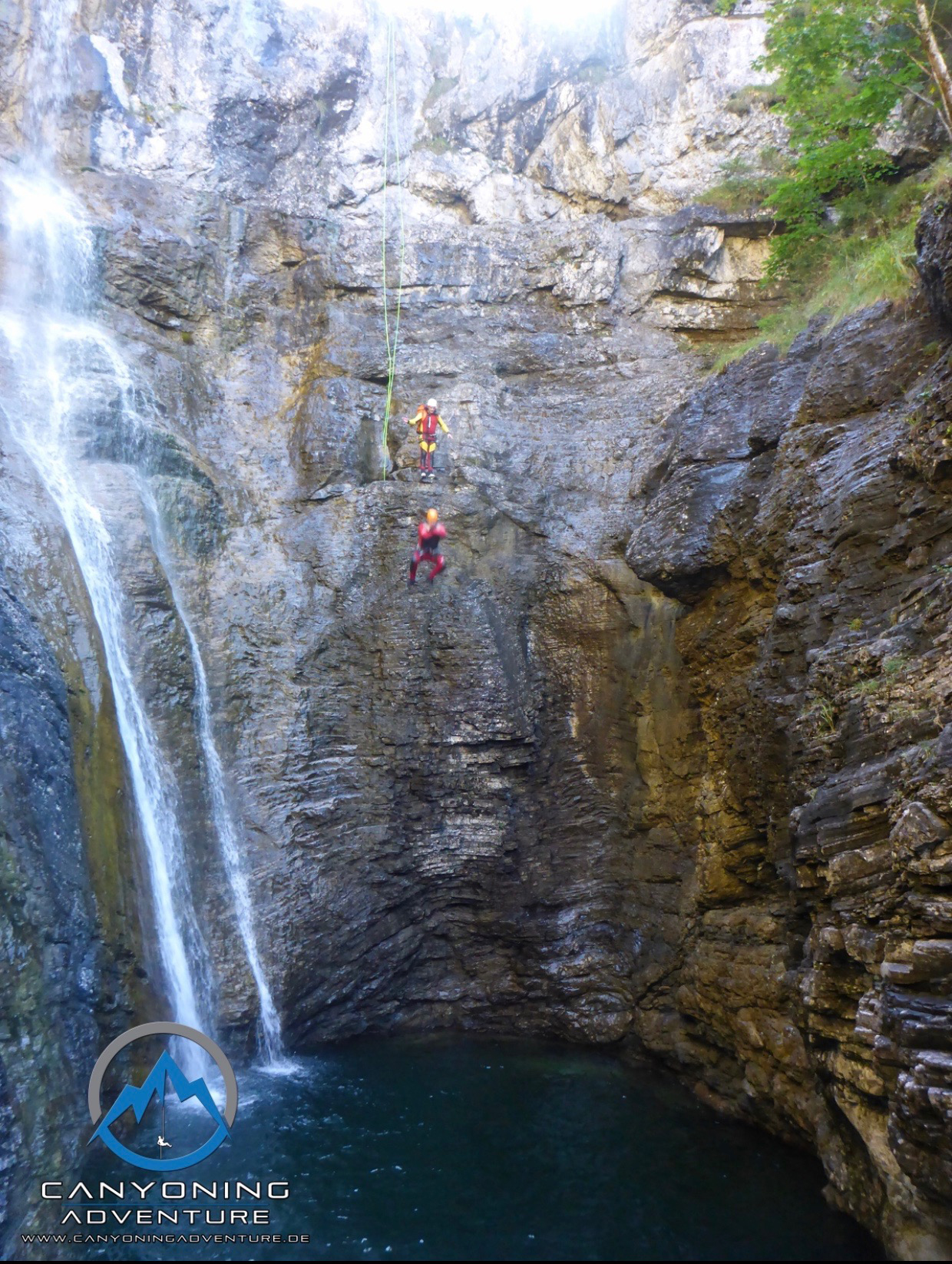 Plansee Canyoning