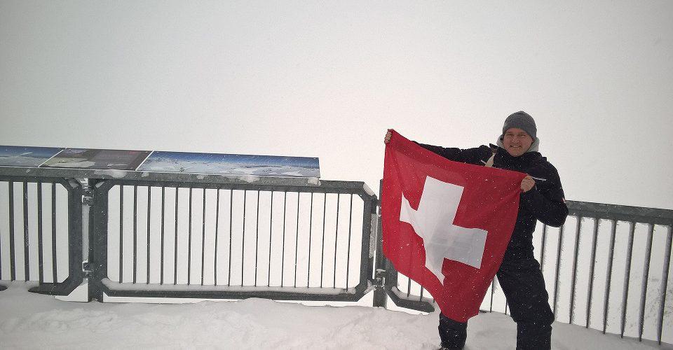 Schweiz Bern Schilthorn